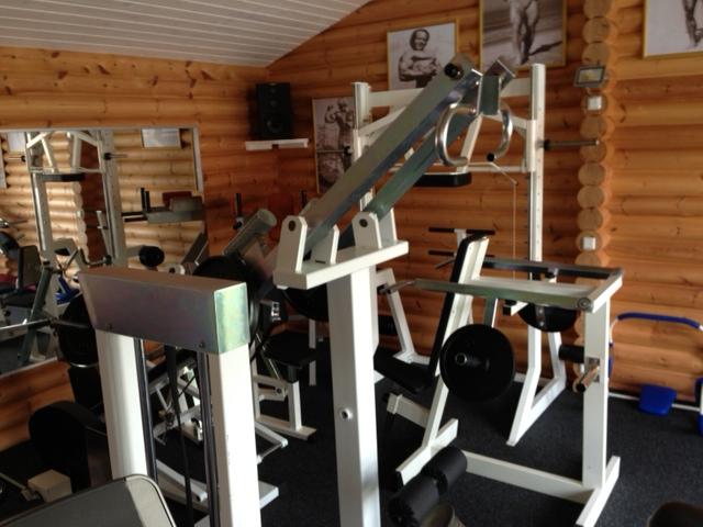 Home gym selber bauen  Das Golden Gym - Ein Studio im Hintergarten